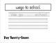 Daily Sentence Correction - Dolch Pre-Primer Words Focus