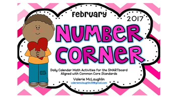 **REVISED** Daily SmartBoard Number Corner for FEBRUARY 20