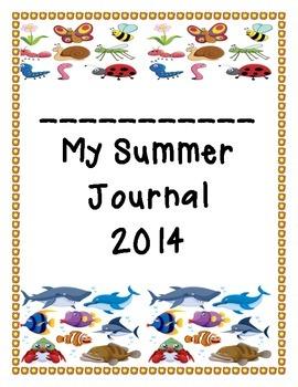 Daily Summer Calendar Journal