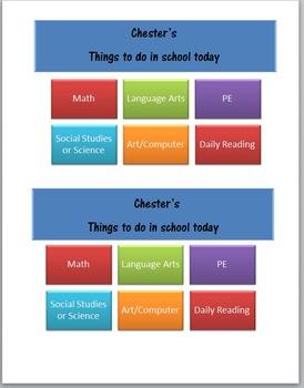 Daily Task List