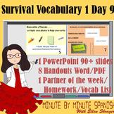 Spanish 1 Day 9  90% Target Language Lesson - DTG  Surviva