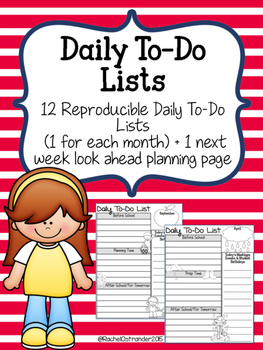 Daily To-Do Lists