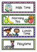 Daily Visual Timetable for NZ / AU Classrooms Chevron Theme