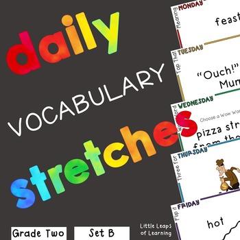 Daily Vocabulary Mini-Lessons: Grade 2 (SET B)