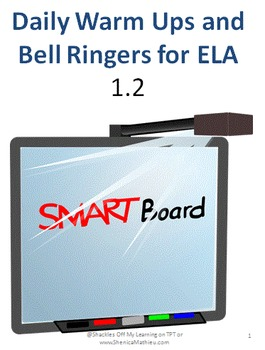 ELA  Bell Ringers for- Week 2