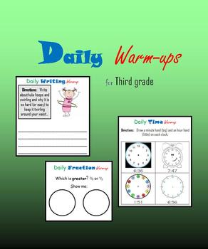 Daily Warm-ups for Third grade