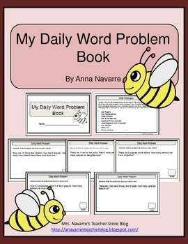 Daily Word Problem Book