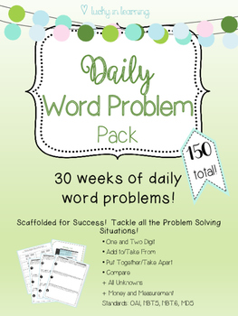 Daily Word Problem Pack