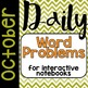 Daily Word Problems YEAR BUNDLE