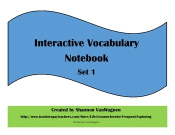 Daily Word Vocabulary Common Reading and Writing Notebook