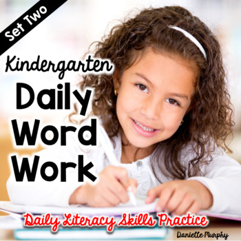 Daily Word Work Set 2--Daily Literacy Skills Practice for