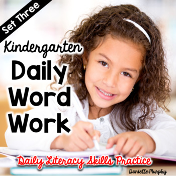 Daily Word Work Set 3--Daily Literacy Skills Practice for