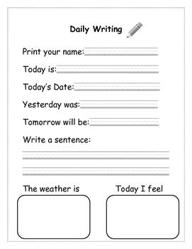 Daily Writing