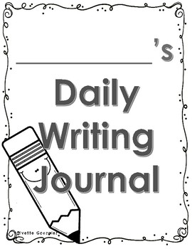 Daily Writing Journal