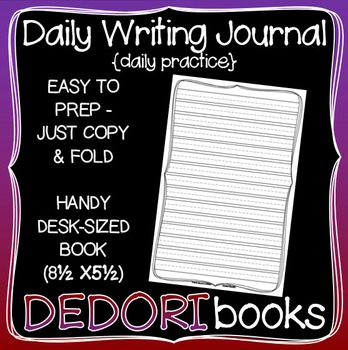 Daily Writing Journal for Students