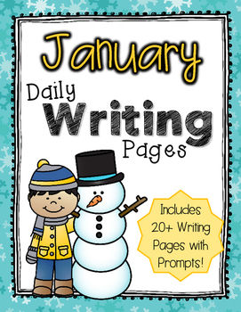 Daily Writing Pages: January