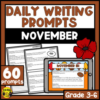 Daily Writing Prompts-November