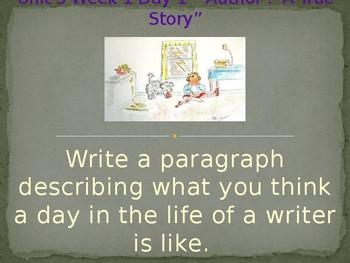 Daily Writing Prompts Treasures U3W1