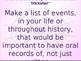 Daily Writing Prompts Treasures U6W3