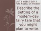 Daily Writing Prompts Treasures U6W5