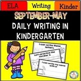 Daily Writing in Kindergarten Sept. – May