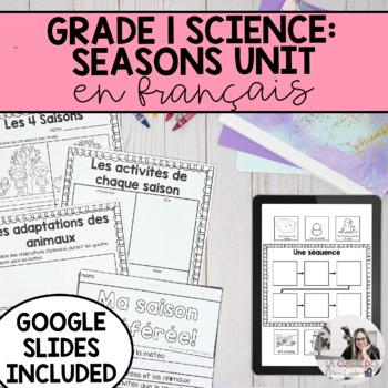 Grade 1 Daily and Seasonal Changes Unit / Unité: Le cycle