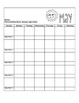 Daily/Monthly Behavior Calendar