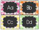 Daisy Delights Alphabet Word Wall Headers