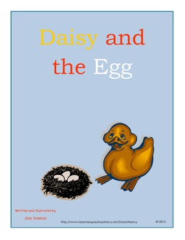 Daisy and the Egg by Jane Simmons spring reading unit and