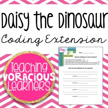 *FREEBIE* Daisy the Dinosaur Coding Extension Activity