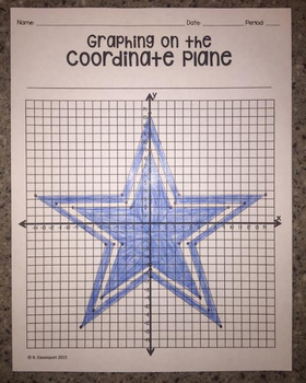 Dallas Cowboys (Graphing on the Coordinate Plane/ Mystery