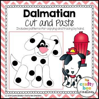 Dalmatian Cut and Paste