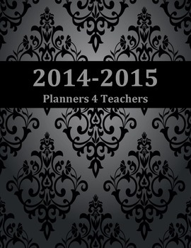 Damask Daily Planner IN FRENCH