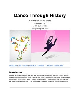Dance Through History