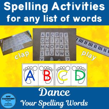 Dance Your Spelling Words!