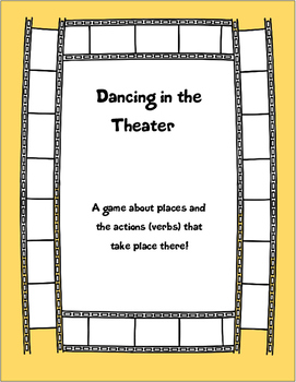 Dancing in the Theater- a drawing game with verbs!