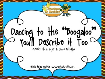"""Dancing to the """"Boogaloo"""" You'll Describe it Too – Songboo"""