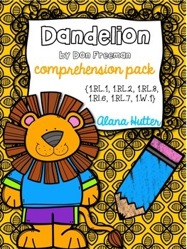 Dandelion Comprehension Pack