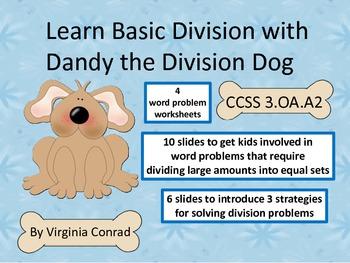 Dandy the Division Dog Teaches 3 Basic Division Strategies