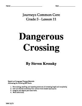 Journeys Common Core 5th - Dangerous Crossing Supplemental