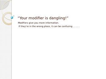 Dangling Modifiers PPP