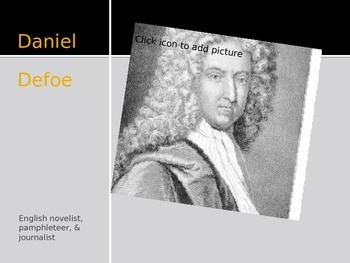 Daniel Defoe Biography