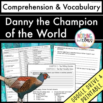 Danny the Champion of the World: Comprehension Questions b
