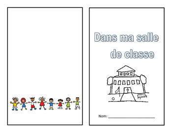 Dans ma salle de classe- booklet