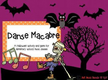 Danse Macabre Listening Map and Game