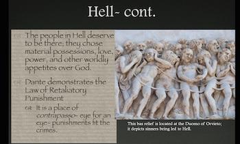 Dante's Inferno Powerpoint Presentation
