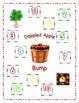 Dappled Apple Bump Math Center Game using 2 Dice