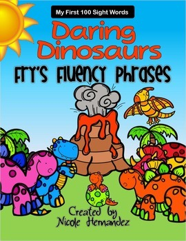 Fry's First 100 Words and Phrases - Daring Dinosaurs! Reso