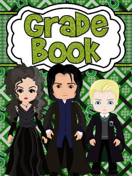 Dark Wizard Themed Grade Book