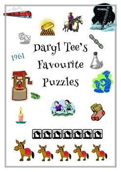 Daryl Tee's Favourite Puzzles